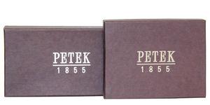 Портмоне кожаный черный мужской Petek 1751j