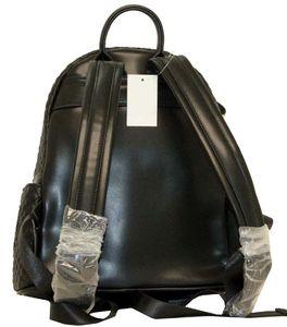 Рюкзак стеганный с накладным карманом Farfalla Rosso 6274