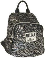 Рюкзак с пайетками и гипюром Velina Fabbiano 531016-20
