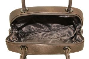 Сумка бочонок бронзовая Gilda Tohetti 61091-66
