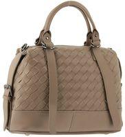 Плетеная кожаная сумка Polina & Eiterou 9670-10j
