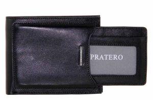 Кошелек кожаный мужской 2 в 1 Pratero 20904