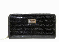 Кошелек кожа лак Nina Farmina 9285-030