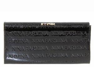 Кошелек кожа лак Nina Farmina 9287-030