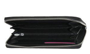 Кошелек кожаный с круглой молнией Mario Veronni 156-995