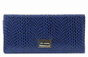 Кошелек женский синий лазер Nina Farmina 9287-119