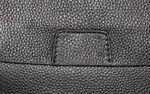 Клатч кожаный круглый с ручкой барсетка мужской 1806-20