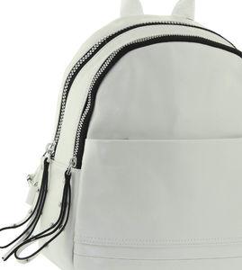 Рюкзак кожаный большой Farfalla Rosso 6610j