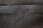 Сумка планшет кожаная мужская черная 710-3