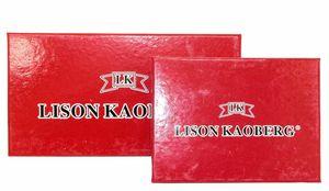 Кошелек кожаный замок поцелуй женский Lison Kaoberg 35002