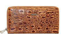 Кошелек кожаный структурный женский Mario Veronni 155-845