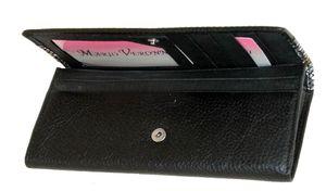 Кошелек кожаный с лазерным клапаном женский Mario Veronni 156-998