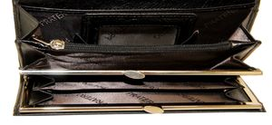 Кошелек кожаный с визитницей Pratero 9753