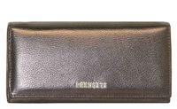 Кошелек кожаный коричневый жемчужный женский Prensiti 179-3361