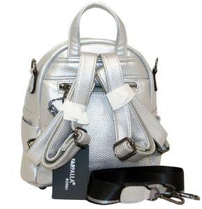 Рюкзак маленький серебро Farfalla Rosso 2272-18
