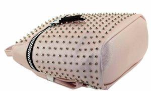 Рюкзак розовый с жемчугом B.Oaleng BALINAi 1516-5