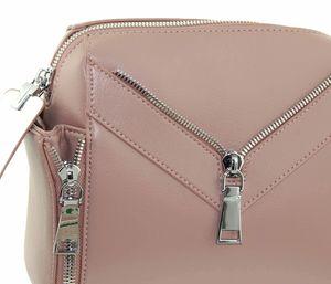 Сумка бочонок розовая Polina & Eiterou 9708-5