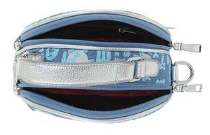 Сумка женская круглая джинс 1247-1