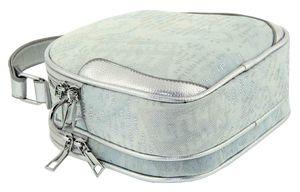 Сумка женская круглая джинс 1247-2