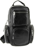 Кожаный рюкзак на одном ремне 3117-1j