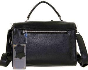 Кожаная сумка бочонок с карманами Polina & Eiterou 5521j