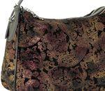 Сумка кожаная цветная бронза Farfalla Rosso 720-12j