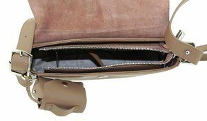 Сумка кожаная через плечо женская Farfalla Rosso 041-6j