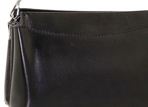Сумка кожаная черная 7761-1j